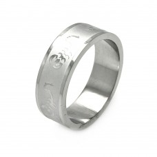 Wholesale Men's Stainless Steel Scorpion Design Ring - SRB029