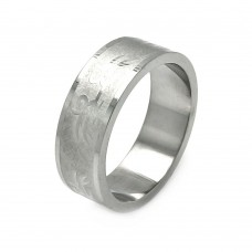 Wholesale Men's Stainless Steel Abstract Design Ring - SRB033