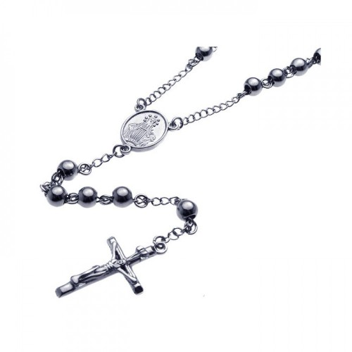 Wholesale Stainless Steel Rosary - SSR00001