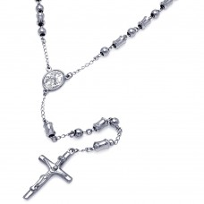 Wholesale Stainless Steel Rosary - SSR00004