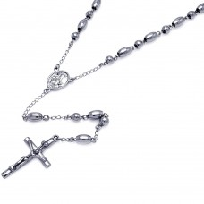 Wholesale Stainless Steel Rosary - SSR00008