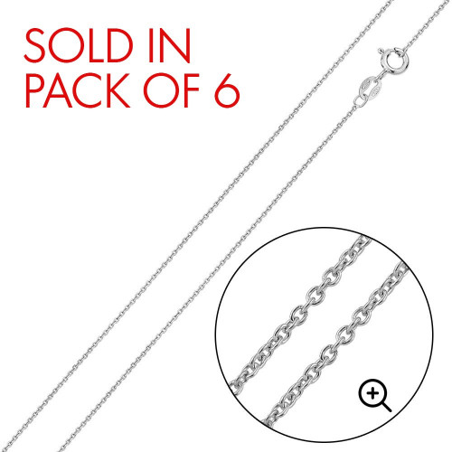 Wholesale Sterling Silver 925 Anchor 025 Chain 1mm - CH717