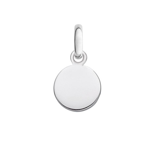 Wholesale Sterling Silver 925 High Polished Engravable Disc Charm 15mm - ARP00026