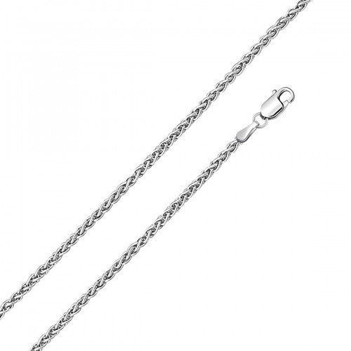 Wholesale Sterling Silver 925 High Polished Wheat 050 Chain Link 2.1mm - CH624