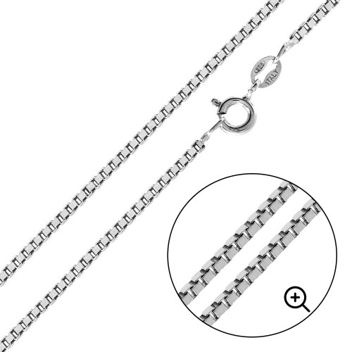 Wholesale Sterling Silver 925 High Polished Box 030 Chain 1.5mm - CH737