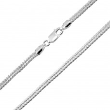 Wholesale Sterling Silver 925 Foxtail Chain 2.5mm - CH820