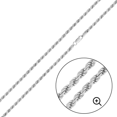 Wholesale Sterling Silver 925 High Polished Rope 060 Chain 2.8mm - CH526