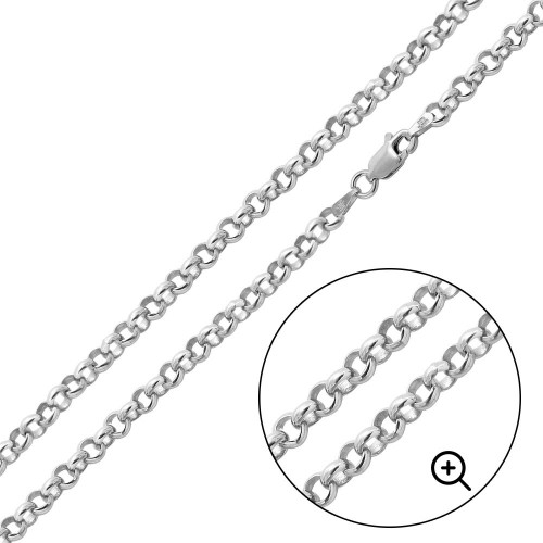 Wholesale Sterling Silver 925 High Polished Round 035 Rolo 2.4mm Chains - CH704