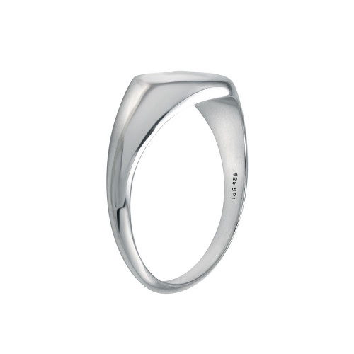 Wholesale Sterling Silver 925 Rhodium Plated Heart Ring - SOR00035