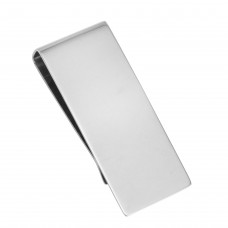 Stainless Steel High Polished Plain Money Clip - SSM00013
