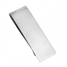 Wholesale Sterling Silver 925 High Polished Plain Money Clip - SSM00020