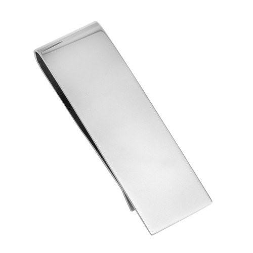 Wholesale Stainless Steel 925 High Polished Plain Money Clip - SSM00020