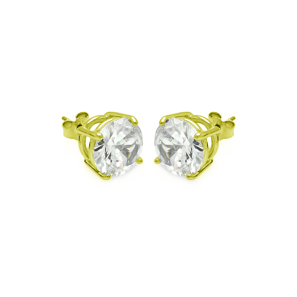 zirconia sterling products hot aaa hop gold silver earrings stud earring cubic cz square geometric men hip bling color