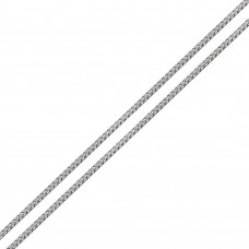 Wholesale Sterling Silver 925 Rhodium Plated Franco Chain 1.7mm - CH939 RH