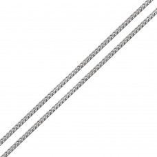 Wholesale Sterling Silver 925 Rhodium Plated Franco Chain 2mm - CH940 RH