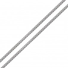 Wholesale Sterling Silver 925 Rhodium Plated Franco Chain 2.7mm - CH941 RH