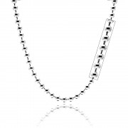 Sterling Silver Round Bead Chain