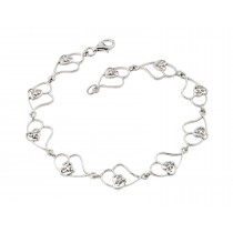 Wholesale Silver Bracelet .925 Ladies Sterling Silver Jewelry stb00483