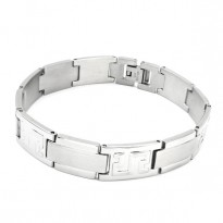 Wholesale Steel Mens Bracelet 316L Stainless Steel Jewelry ssb00243